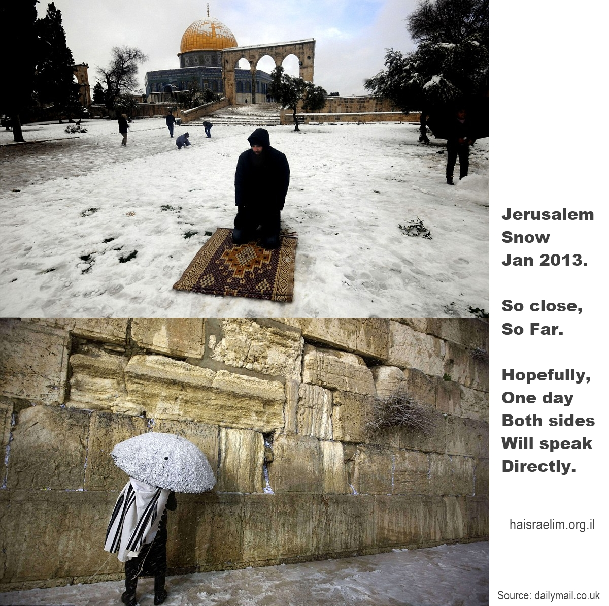 Jerusalem Snow - So Close, So Far