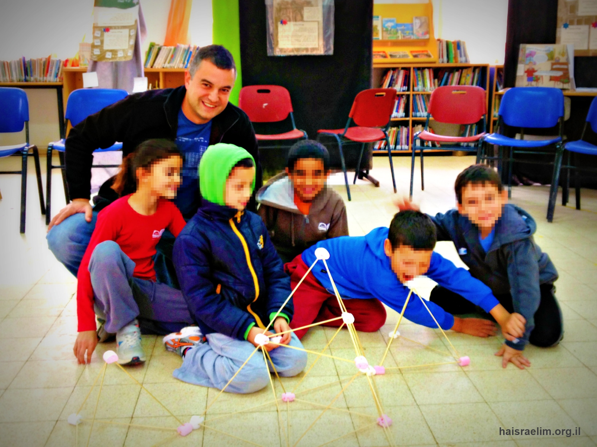 יחד מורים - תומר טרבס בבית ספר השחר